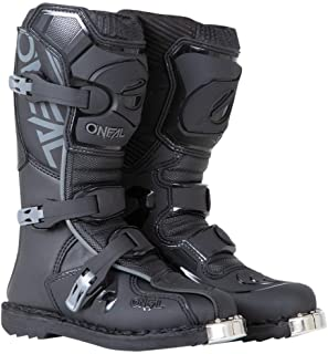 O'Neal 0332-110  Unisex-Child Dirtbike Boots (Black, 3)