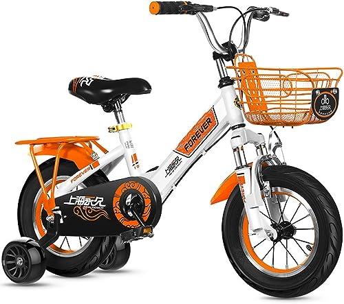 autorización oficial Bicicletas para Niños, Niños, Niños, bicicletas para Niños de 2 a 8 años, triciclo con pedales Princess Girl, cuadro de acero al carbono, 3 tamaños (12 pulgadas   14 pulgadas   16 pulgadas) Ciclismo para bicicletas  precios mas bajos