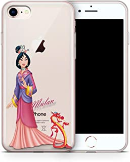 iPhone 8 Case, iPhone 7 Case, Aertemisi Clear TPU Soft Slim Flexible Silicone Cover Phone Case for Apple iPhone 8 / iPhone 7 (4.7'') - Mulan