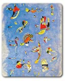 1art1 Wassily Kandinsky - Himmelblau, 1940 Mauspad 23 x 19 cm