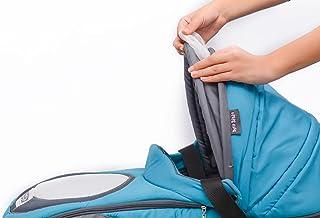 Petit Bebe Smart Gear Carrycot for Unisex - Light Blue Grey
