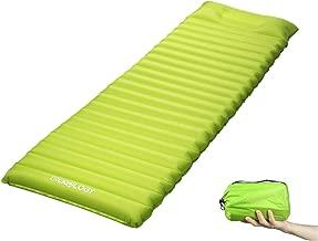 Trekology Inflatable Sleeping Pad, Camping Mats for Sleeping - w/Air Pump Dry Sack Bag - Compact Lightweight Camp Mat, Ultralight Comfortable Backpacking Mattress Best as Tent Hammock Outdoor Pads