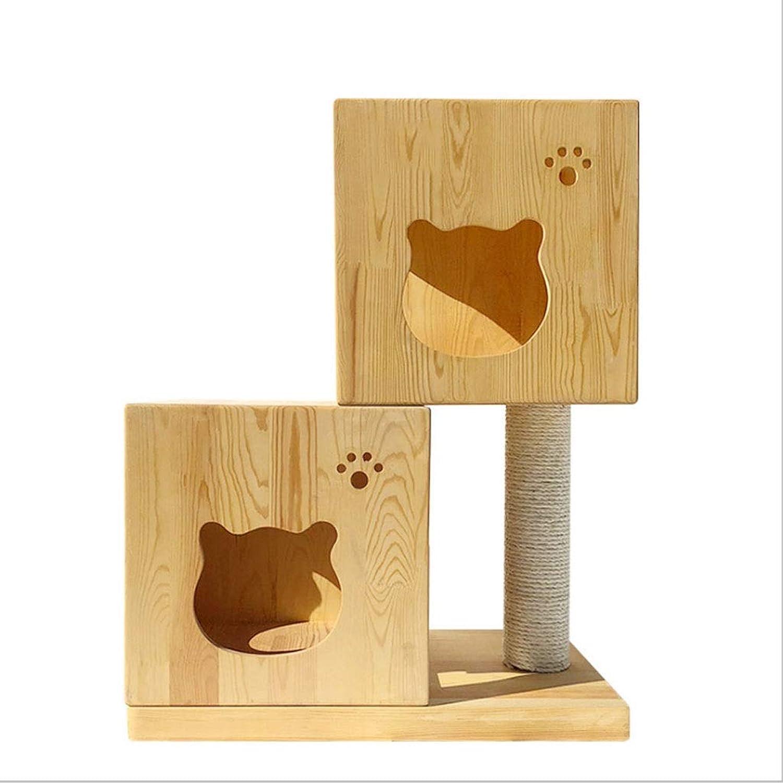 Cat Tree Small Magic Cube Cat Nest Cat House Cat Climbing Frame Solid Sisal Pillar Cat Jumping Cat Furniture