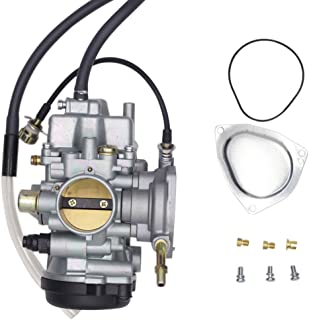 SUNROAD Replacement Carburetor for ATV for Yamaha 2000-2006 Big Bear Kodiak 400 & 2007-2011 Grizzly 350 450 & 2006-2009 Wolverine 350 & 2007-2010 Wolverine 450