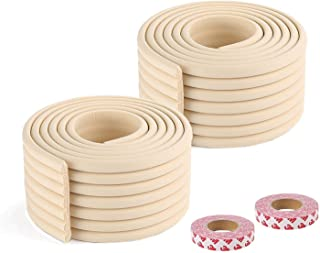 Furniture Clear Toddler Edge Protectors Soft Silicone Bumper Strip Baby Proofing 20ft with Double-Sided Tape for Cabinets,Tables,Household Appliances,etc ShengRuHai Corner Guards 6m
