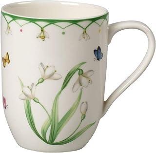 comprar comparacion Villeroy & Boch Colourful Spring Taza de café, 340 ml, Porcelana Premium, Blanco/Multicolor