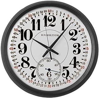 47 zhjxBuy Hamilton Railroad Pocket Watch - 10 inch Round Wall Clock, Unique Decorative Clock