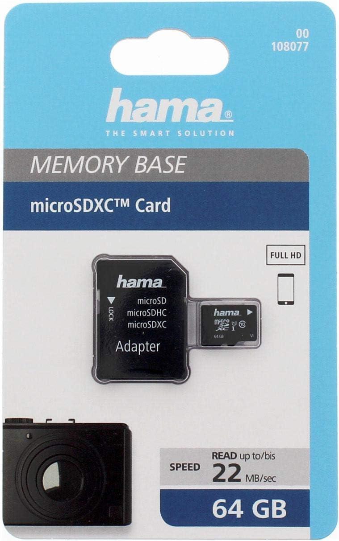 Hama Class 10 16gb Microsdhc Speicherkarte Inkl Sd Adapter