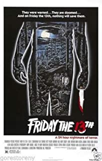 Best friday the 13th movie poster Reviews