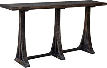 """Crestview Collection CVFNR797 38.5"""" Wood Console Table Furniture"""