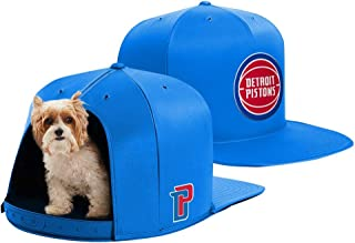 4bce8b7629a NAP CAP NBA Detroit Pistons Team Indoor Pet Bed, Blue (Available in 3 Sizes