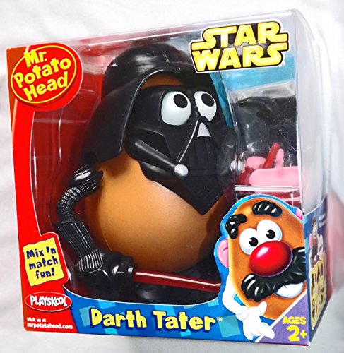 Mr. Potato Head Star Wars Series - Darth Tater con llavero pequeño