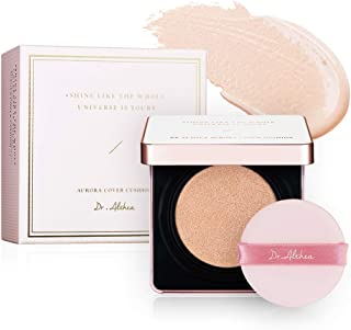 Dr. Althea Aurora Cover Cushion (21 Beige), SPF 50+/PA +++ - Refill Included (21 Beige)
