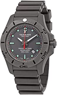 Victorinox I.N.O.X. Professional Diver Grey Dial Men's Watch 241810