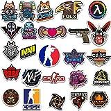 LSPLSP Pc Game Counter-Strike: Csgo Pegatinas de graffiti extraíbles Maleta Skateboard Notebook Guitarras Pegatinas impermeables 50 piezas