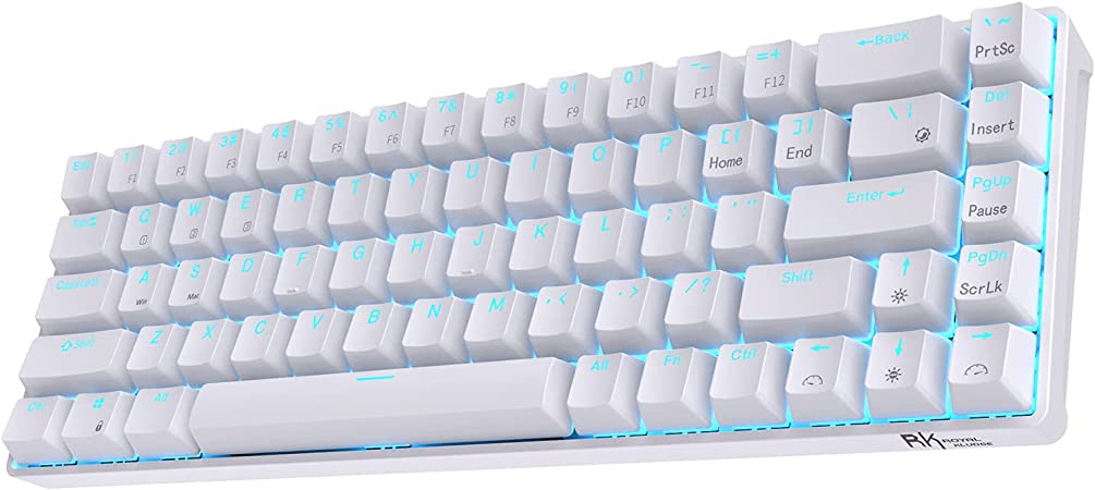 RK ROYAL KLUDGE RK68 Wireless HotSwappable 65 Mechanical Keyboard 60 68 Keys Compact Bluetooth Gaming Keyboard with StandAlone ArrowControl Keys Quiet at Kapruka Online for specialGifts