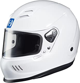 HJC Helmets HJC-2WM15 White AR-10 III SA2015 Racing Helmet Medium