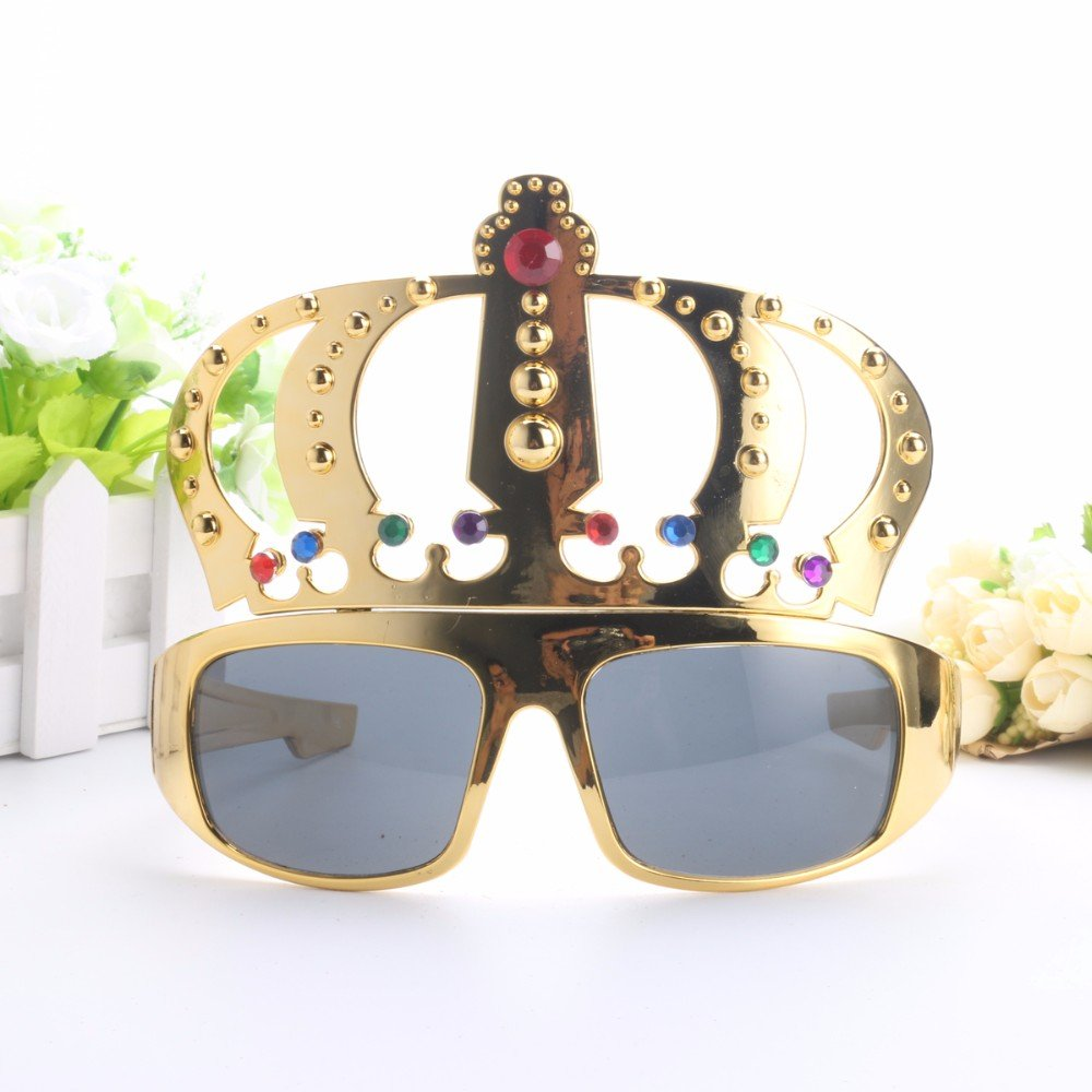 ultimafio (TM) hermosa corona con joya para despedida disfraz ...
