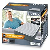 Intex Comfort-Plush Luftbett - Twin - 99 x 191 x 33 cm - Mit eingebaute elektrische Pumpe - 4