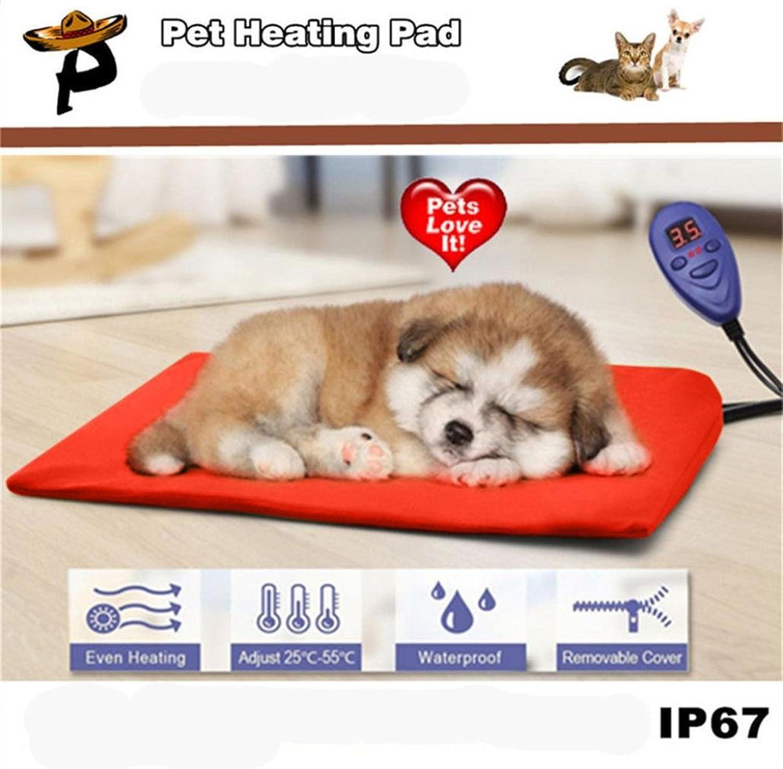 DZT1968 Durability Pet Heat Pad Electric Heating Pad for Cats Dogs Waterproof Warming Mat 30X40cm
