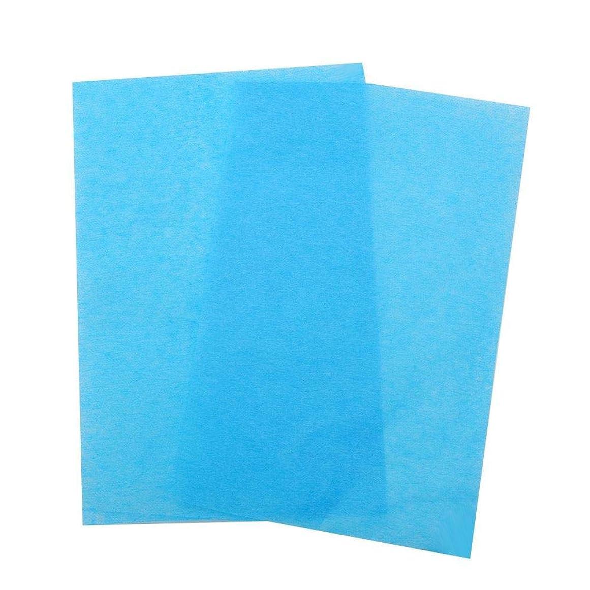 文明晩餐モック3色50ピース両面、オイル吸収組織フェイスブロッティングシートオイルブロッティング紙(03)