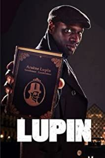 Arsène Lupin notebook - Netflix France original series - omar sy - hassan: 6x9 inches cover / 100 pages / agenda pour les ...