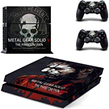 Playstation 4 Skin Set - Metal Gear Solid 5 HD Printing Vinyl Skin Cover Protective for PS4 Console and 2 PS4 Controller by Mr Wonderful Skin