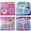 Disney Genuine Child Makeup Toy Nail Sticker Toy Diamond Mini Nail Sticker Frozen Sophia Manicure Paste (A)