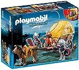 PLAYMOBIL Caballeros - Playset con Figuras del halcón con carruaje de Camuflaje (6005)