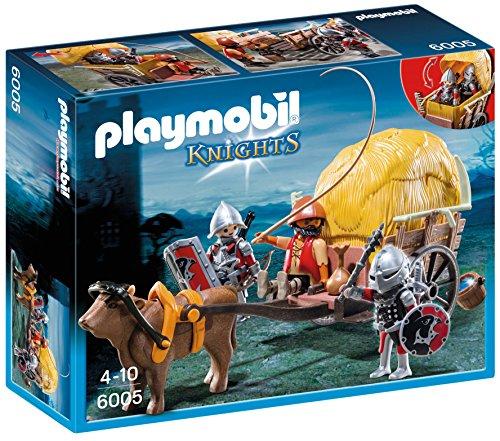 PLAYMOBIL Caballeros - Playset Figuras halcón carruaje