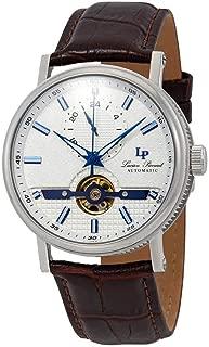 Open Heart 24 Automatic Silver Dial Men's Watch LP-28002A-02SBLABRW