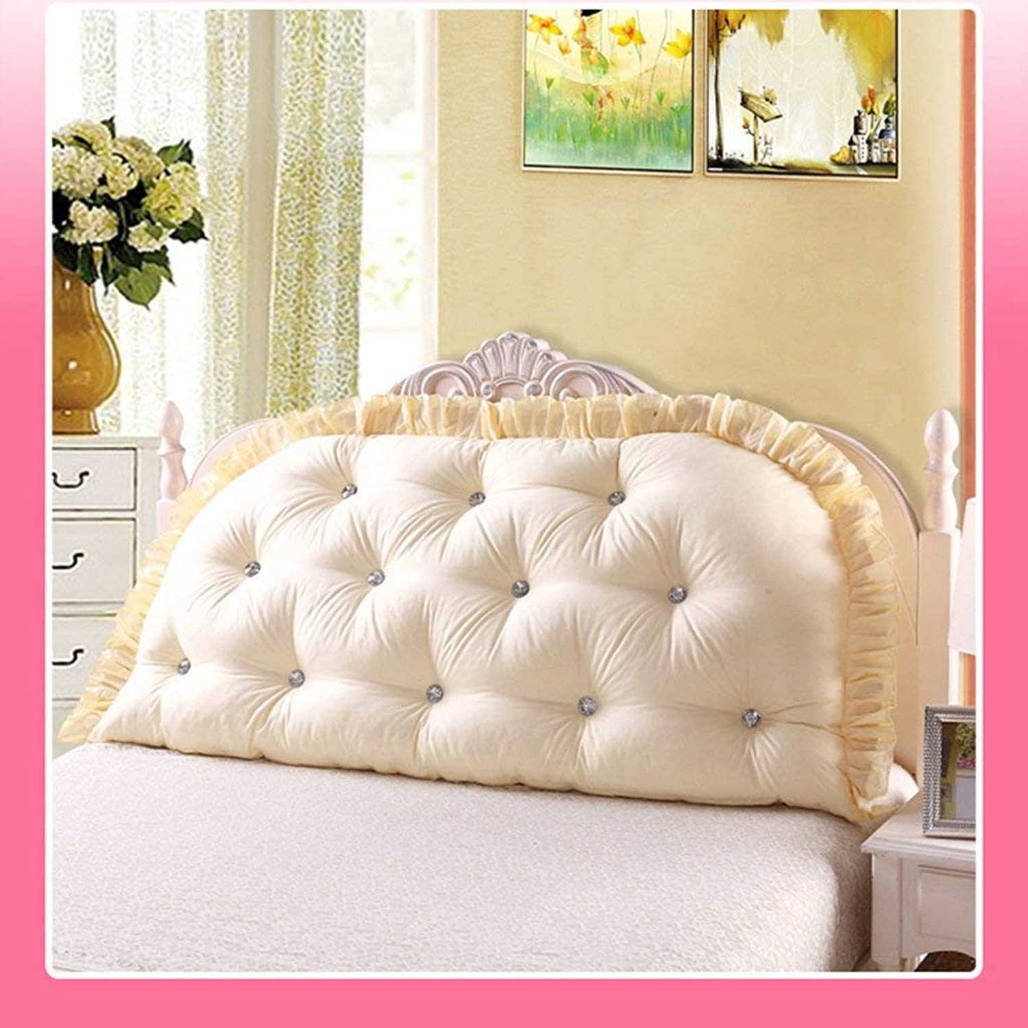 Bed Head Cushion Double Long Pillow Bedside Big Backrest Core Positioning Supports Reading Comfortable Headrests, QiXian
