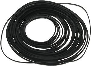 GoldenTrading Mixed Square Cassette Tape Machine Recorder Rubber Belt for Repair Maintenance - Black (Packs of 30)