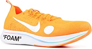 Nike Zoom Fly Mercurial FK Off-White AO2115 (7, Orange/White)