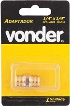 "Adaptador niple 1/4x1/4"" npt latão macho/macho - Vonder"