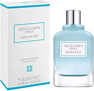 GENTLEMEN ONLY FRAICHE by Givenchy 3.3 Ounce / 100 ml EDT Men Spray Limited Edition