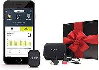 Zepp Play Soccer Kit Bundle | Auto-Clip Technology | Distance, Max Speed Stats Tracker