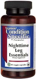 Swanson Nighttime Leg Essentials 60 Veg Capsules