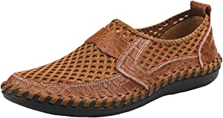 Men's Summer Breathable Mesh Casual Walking Shoes Driving Loafers