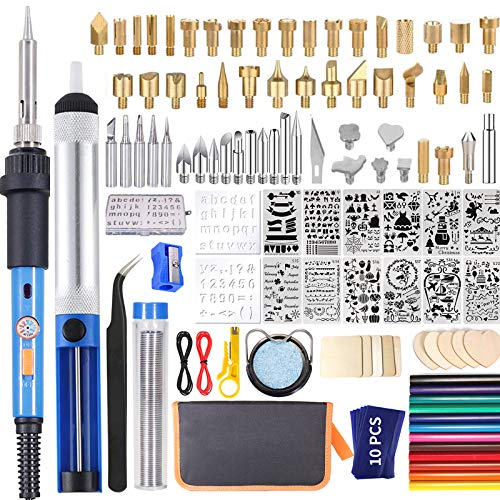 IVSUN 116pcs Wood Burning kit, Professional Wood...