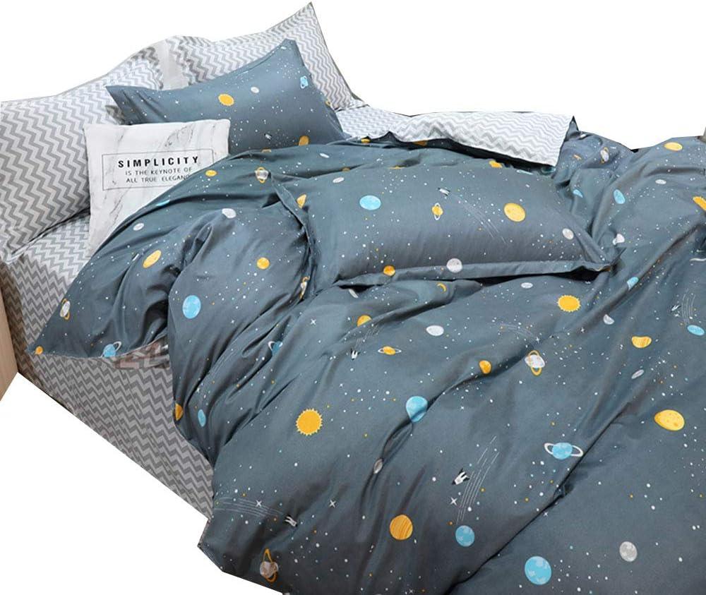ORIHOME Ranking TOP7 Kids Duvet Cover Set Full Pattern Polka Regular store Size Anime Dots
