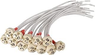 G6.35 12-pack GY6.35 G4 GX5.3 MR16 Glo-shine MR16 MR11 Lamp Socket,MR16 MR11 Lamp Holder for Downlights Miniature Bi-Pin Base GZ4 MR11