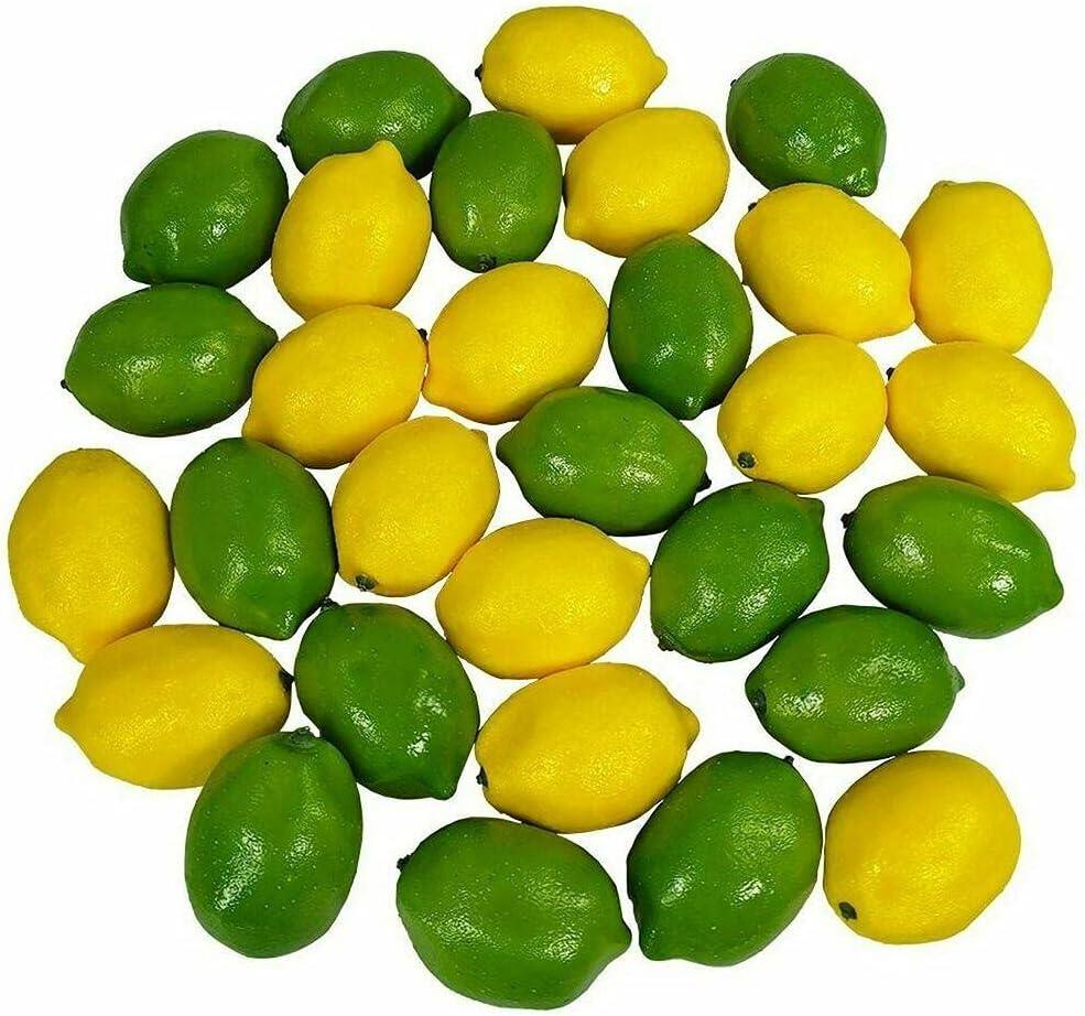 Sales for Popular brand sale 28 PCS Artificial Lemons Limes and Fruit Life
