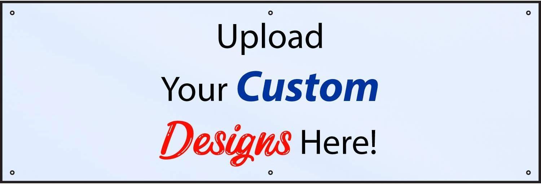 HALF PRICE Cheap bargain BANNERS Custom Design Max 54% OFF Outdoor Banner-Heavy Duty Vinyl
