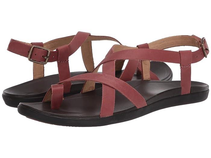 Upena  Shoes (Cedar Wood/Dark Java) Women's Sandals