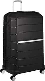 Samsonite 78793 Octolite Spinner Hard Side Luggage, Black, 81 Centimeters