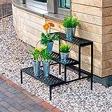 Rekord Blumentreppe - gerade (Stahl)   Blumentreppe, Pflanzentreppe