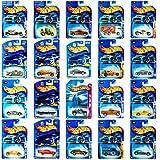 Hot Wheels 4 Unique Random Car Figures