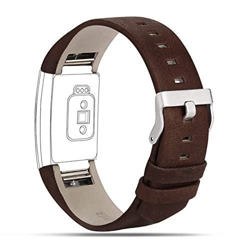 Leather Fitbit Charge 2 Band: Amazon co uk