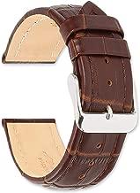 deBeer Breitling Style Matte Alligator Grain Watch Band - Choose Color - (Sizes: 14mm, 16mm, 18mm, 19mm, 20mm, 22mm, 24mm, 26mm)
